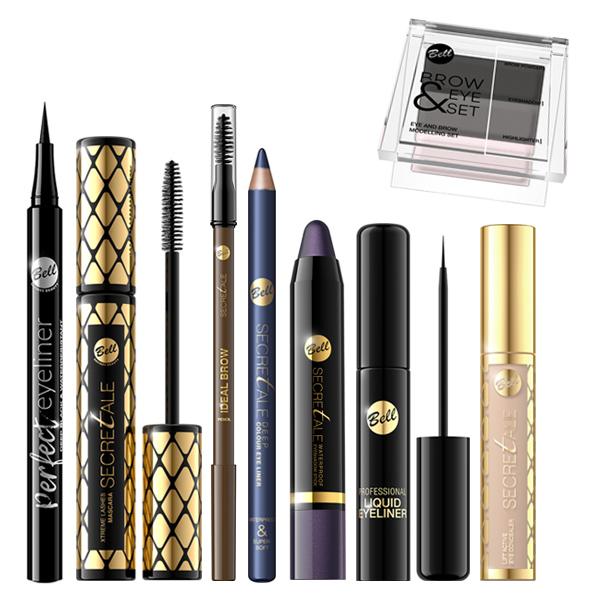 Productos de ojos Bell Cosmetics