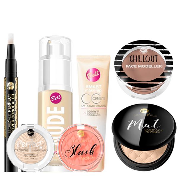 Productos de rostro Bell Cosmetics