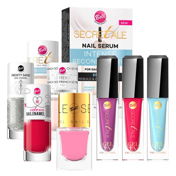 Productos de uñas Bell Cosmetics